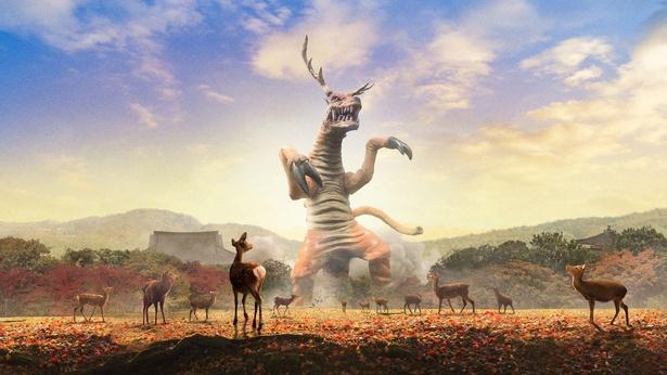 奈良県のご当地怪獣「シンロック」