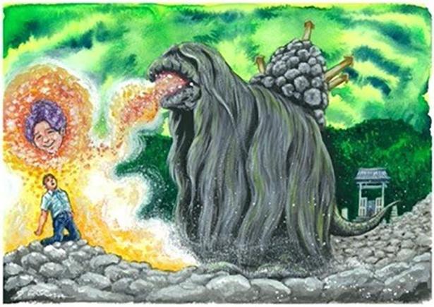 青森県のご当地怪獣「ワゴン」