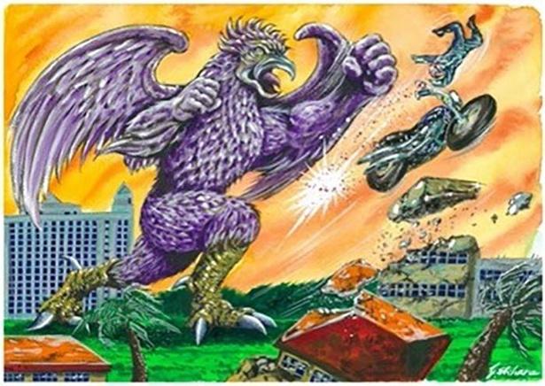 沖縄県のご当地怪獣「カンムロン」