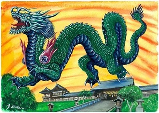 長崎県のご当地怪獣「クンチロン」