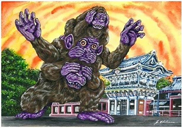 栃木県のご当地怪獣「サルザンス」