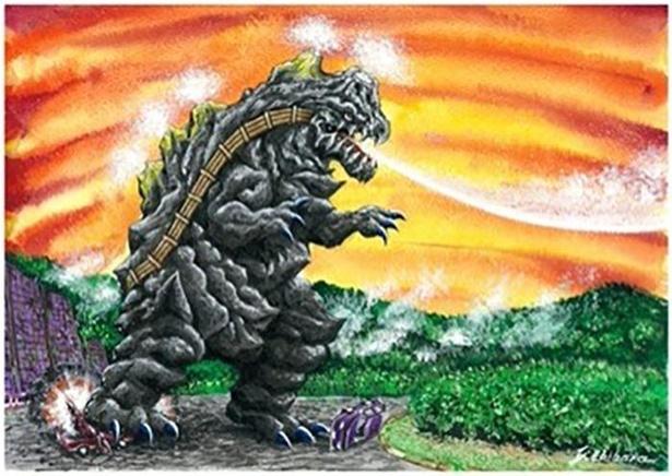 秋田県のご当地怪獣「タマグラー」