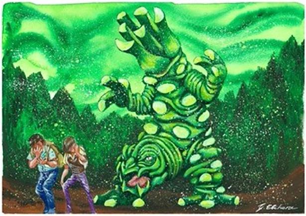 静岡県のご当地怪獣「ツーン」