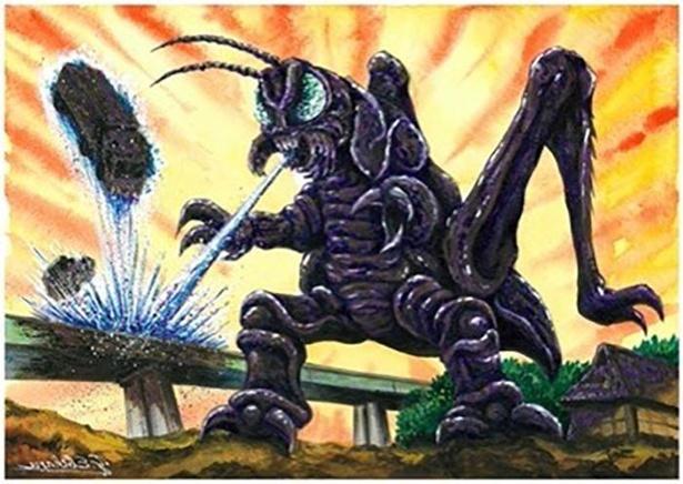 長野県のご当地怪獣「ツクダニャゴン」