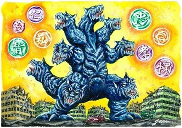 千葉県のご当地怪獣「バッケンドン」