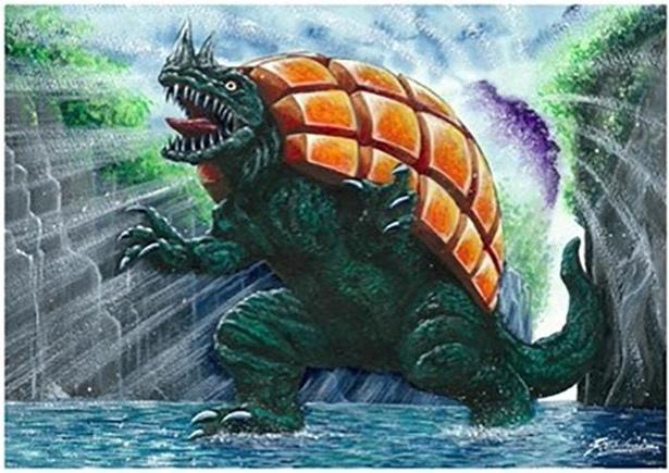宮崎県のご当地怪獣「マンゴラー」