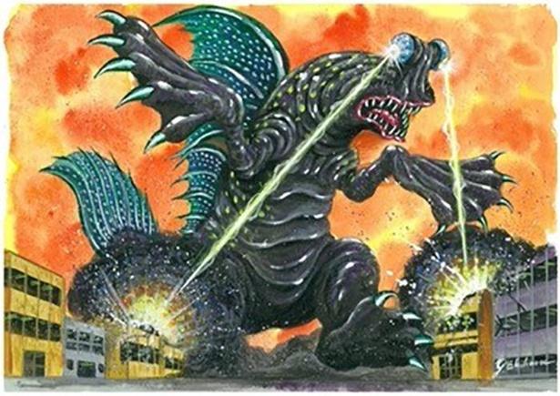 佐賀県のご当地怪獣「ムツゴロドン」