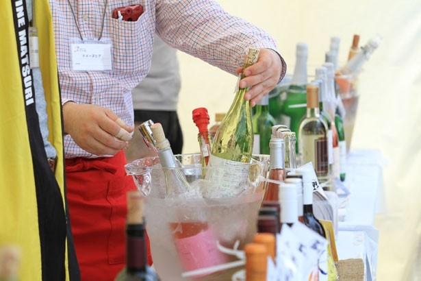 17都道府県、46ワイナリーの日本ワインが勢ぞろい!