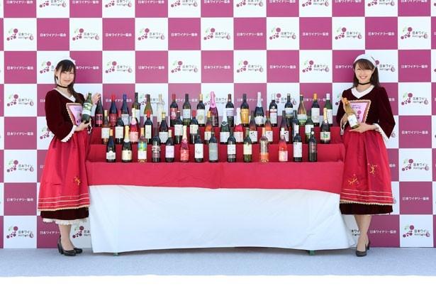 会場で人気No.1の日本ワインを決定する「NWM46総選挙」も実施