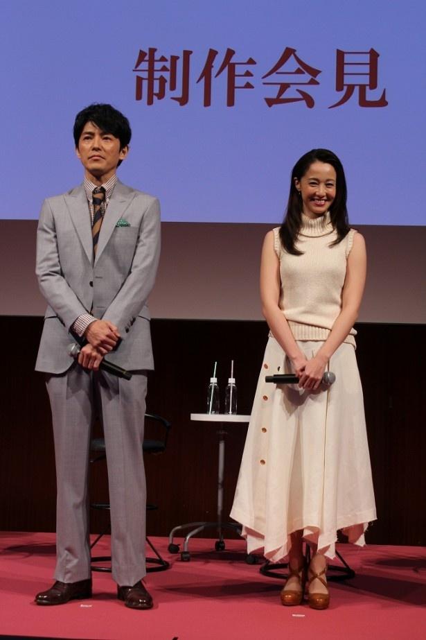 沢尻演じる結衣と、藤木演じる陽一は元夫婦という設定。この二人の関係性にも注目