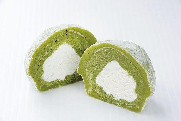 「まるや」の「抹茶大福」(150円)