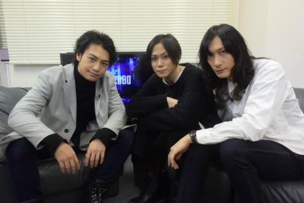 【写真を見る】小澤亮太、玉城裕規、村田充(左から)という実力派俳優が何を語る?