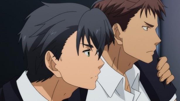明智を助けに向かった花崎と、その後を追う小林を見守る井上ら少年探偵団