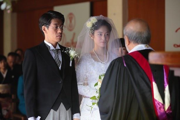 小山(夙川アトム)と悦子(滝裕可里)の結婚にまつわる純愛物語が明らかに