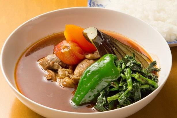 木多郎のチキン野菜