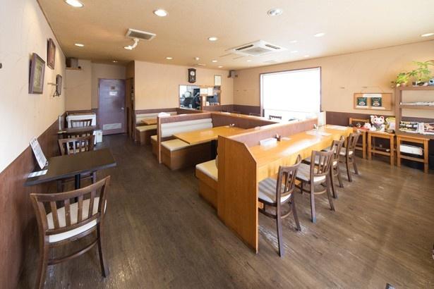 木多郎の店内