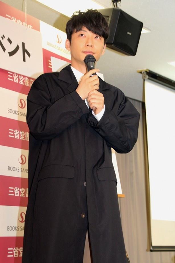 イベントにはエッセイにも登場し、星野と親交のある放送作家・寺坂直毅も参加