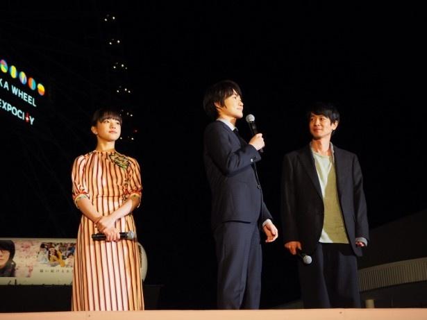 ステージでは、トークセッションが行われた
