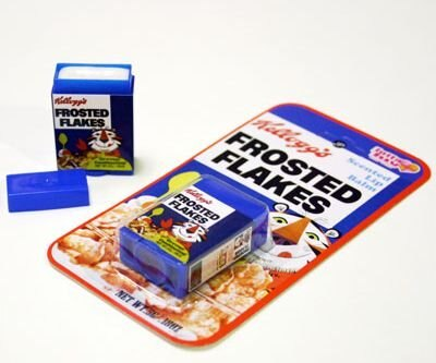 シリアルの箱をミニチュアにしたようなかわいいパッケージ! 【ほか商品画像あり】