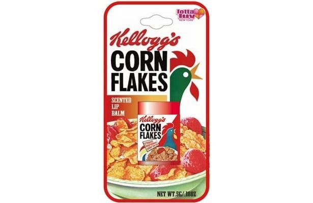 ケロッグのシンボル「コーネリアス」もリップクリームに!