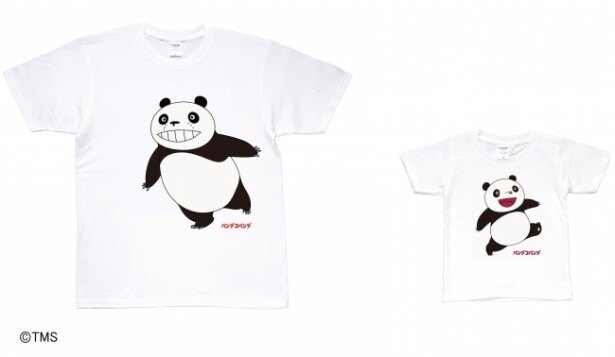 パンダコパンダ 親子Tシャツ パパンダ&パンちゃん