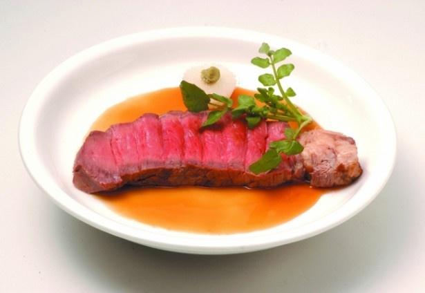 老舗伝統の味をほこる銀座ローストビーフ