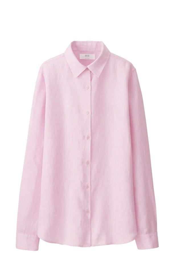 「MEN/WOMEN プレミアムリネンシャツ」(通常価格2990円)が1990円で買える