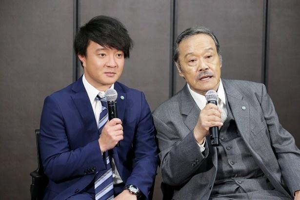 【写真を見る】テレ東の新入社員にエールを送った濱田&西田