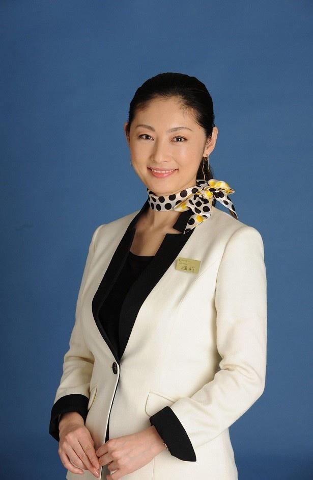 「やすらぎの郷」(テレビ朝日系)でコンシェルジュ・松岡伸子を演じる常盤貴子