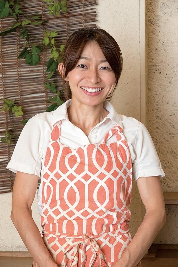 マネージャーの佐賀井奈穂さんはアスリートフードマイスター