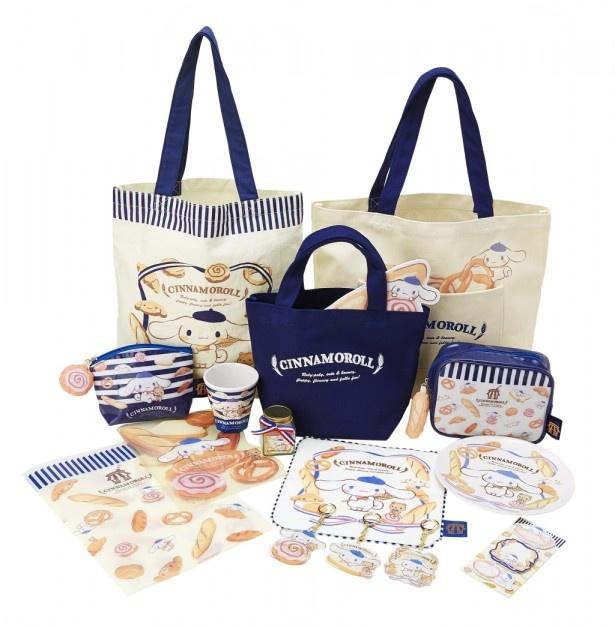 イベント限定商品は、「サブバッグ」(1080円)、「トートバッグ」(2700円)、「ミニ手提げ」(1944円)をはじめ、「ティシュポーチ」(1296 円)や「メラミンカップ」(648 円)など様々な商品がある