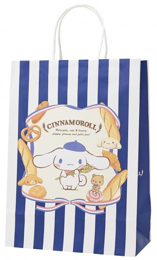 商品を買った際にもらえる、数量限定のシナモロールデザインペーパーバッグ