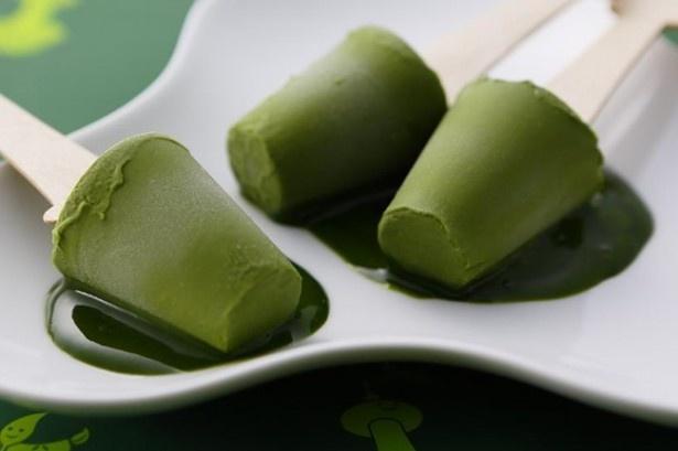 京都北山マールブランシュによる限定メニュー「生茶の菓アイスバー」