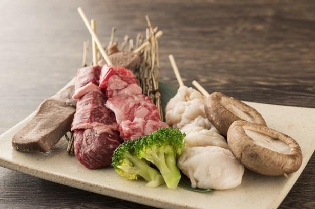 地下1階の飲食フロアに入る人気焼肉店の新業態「京の焼肉処 弘」