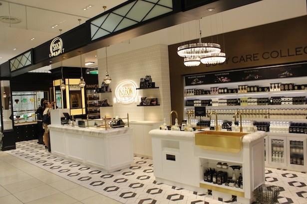 【写真を見る】神戸BALが世界2店舗目となる「SABON GOURMET」は香りを軸にした商品を展開