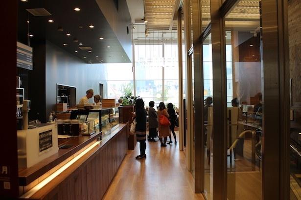 6Fには「無印良品」のカフェ「Café&Meal MUJI」がリニューアルオープン