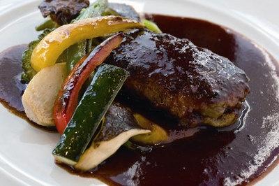 レストラン「アルテジオダイニング」の「地野菜のグリル」(¥1500)