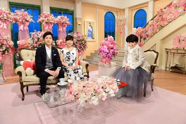 4月12日(水)にテレビ朝日系で放送される「徹子の部屋」春の2時間SPに福原愛&江宏傑夫妻が登場!