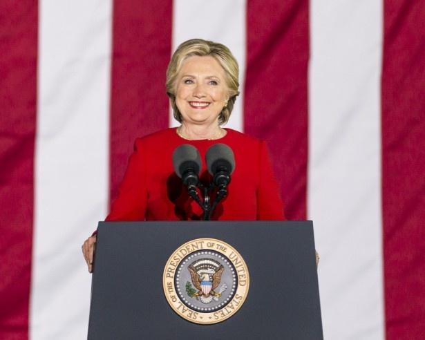6位のヒラリー・クリントン