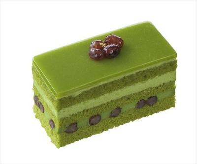 「抹茶とかのこ豆のケーキ」(453円)