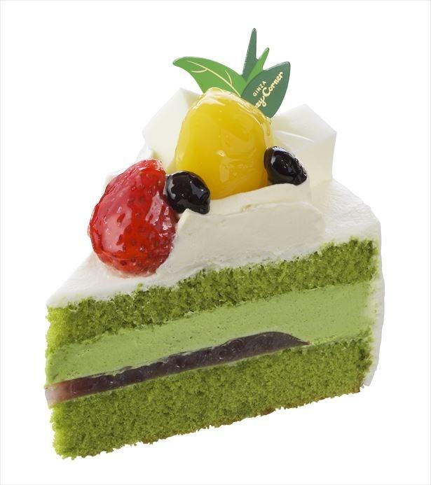 「抹茶の水羊羹ショート」(453円)