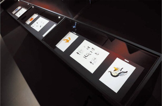原作資料の展示