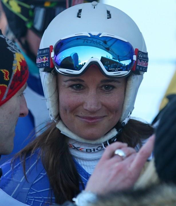 【写真を見る】大会に出るほどスキーが好きなピッパ