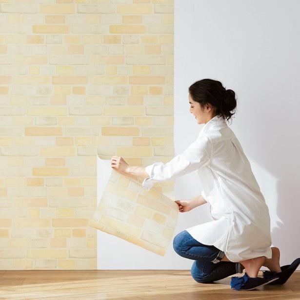 賃貸住宅でも気軽に壁をアレンジできます!