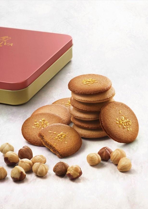 【写真を見る】プラリネクッキー・アソートメントは小ギフトにも最適