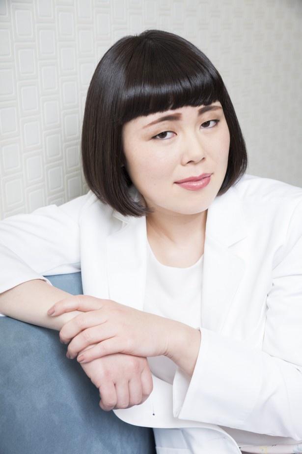 4月13日(木)スタートの「人は見た目が100パーセント」(フジ系)で女優デビューを果たすブルゾンちえみ