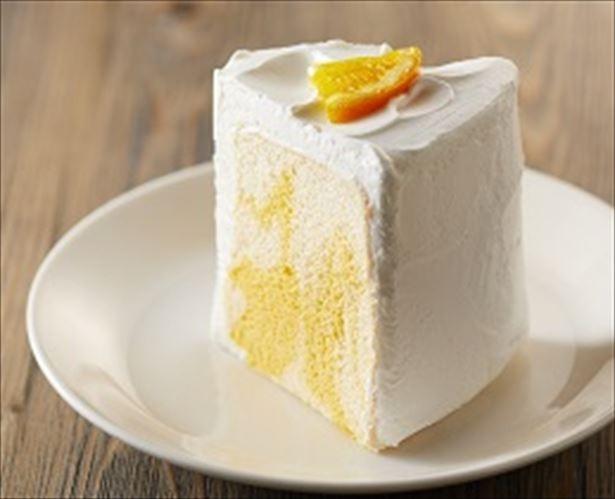 オレンジ果汁を使ったさわやかな香りとキレの良い甘みのホイップクリームが合う!