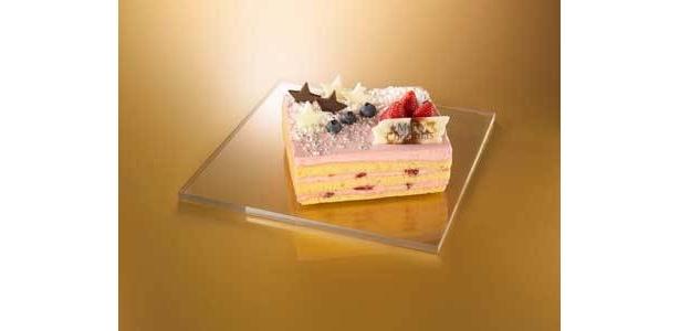 レスポワール/ヘルシー志向「米粉」のクリスマスケーキ/3675円(縦約14×横約12センチ)