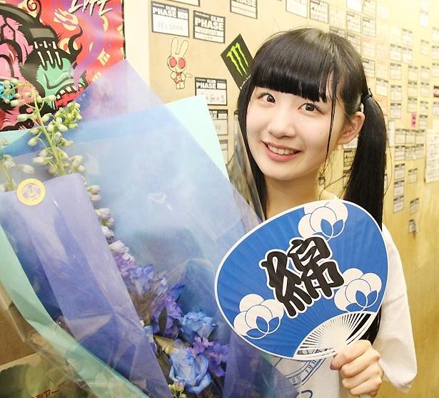 """FES☆TIVEの""""こっとん""""こと鈴木ことねが4月1日に19歳の誕生日を迎え、4月5日に「FES☆TIVE鈴木ことね生誕祭~青色祭~」を行った"""