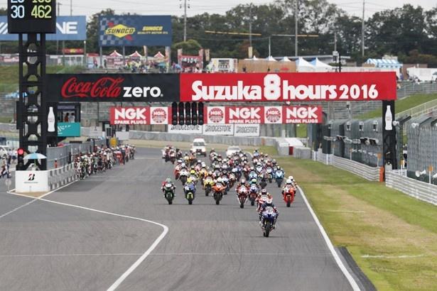 鈴鹿8耐の決勝は2017年7月30日(土)に開催される